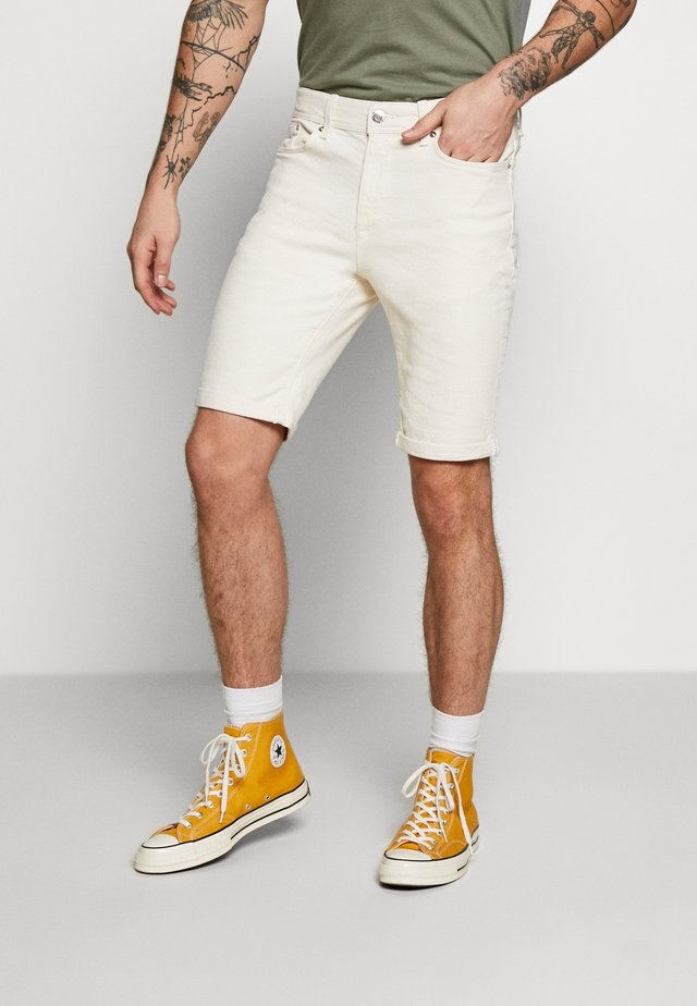 Jeansshorts - off white