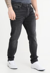 River Island - Slim fit jeans - washed black - 0