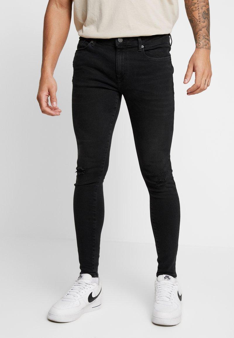 River Island - Jeans Skinny Fit - washed black