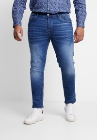 River Island - Slim fit jeans - dark blue - 0