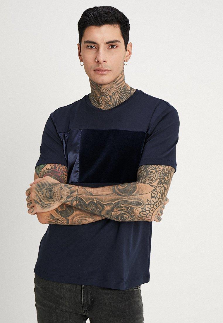 River Island - T-Shirt basic - navy