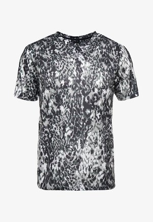 CREW CANIMAL TEE - T-shirt imprimé - khaki