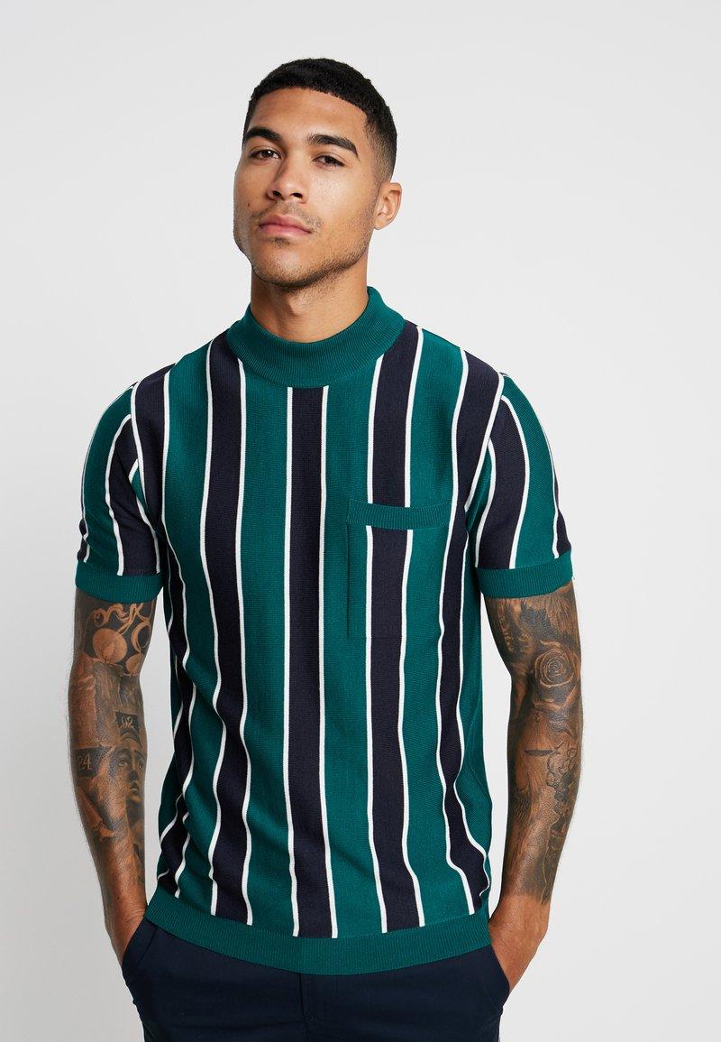 River Island - T-shirts med print - green
