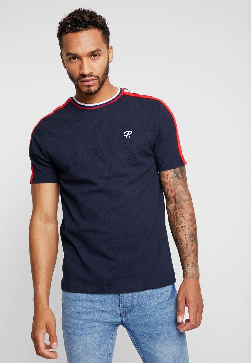 River Island - Basic T-shirt - navy