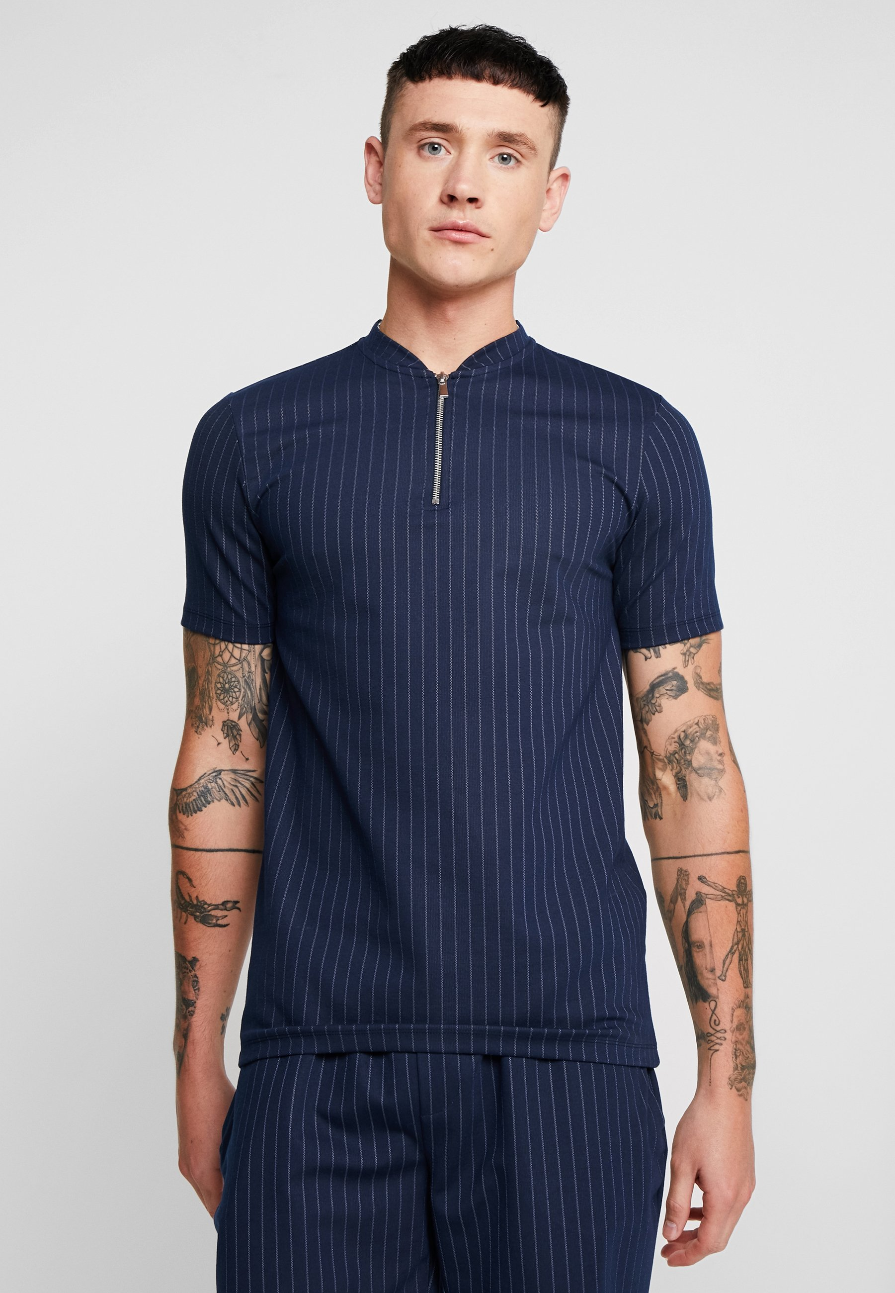 shirt River ImpriméNavy T Island River P8wOkn0