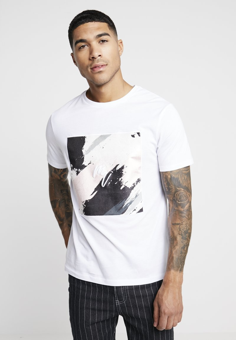River Island - T-shirts med print - white