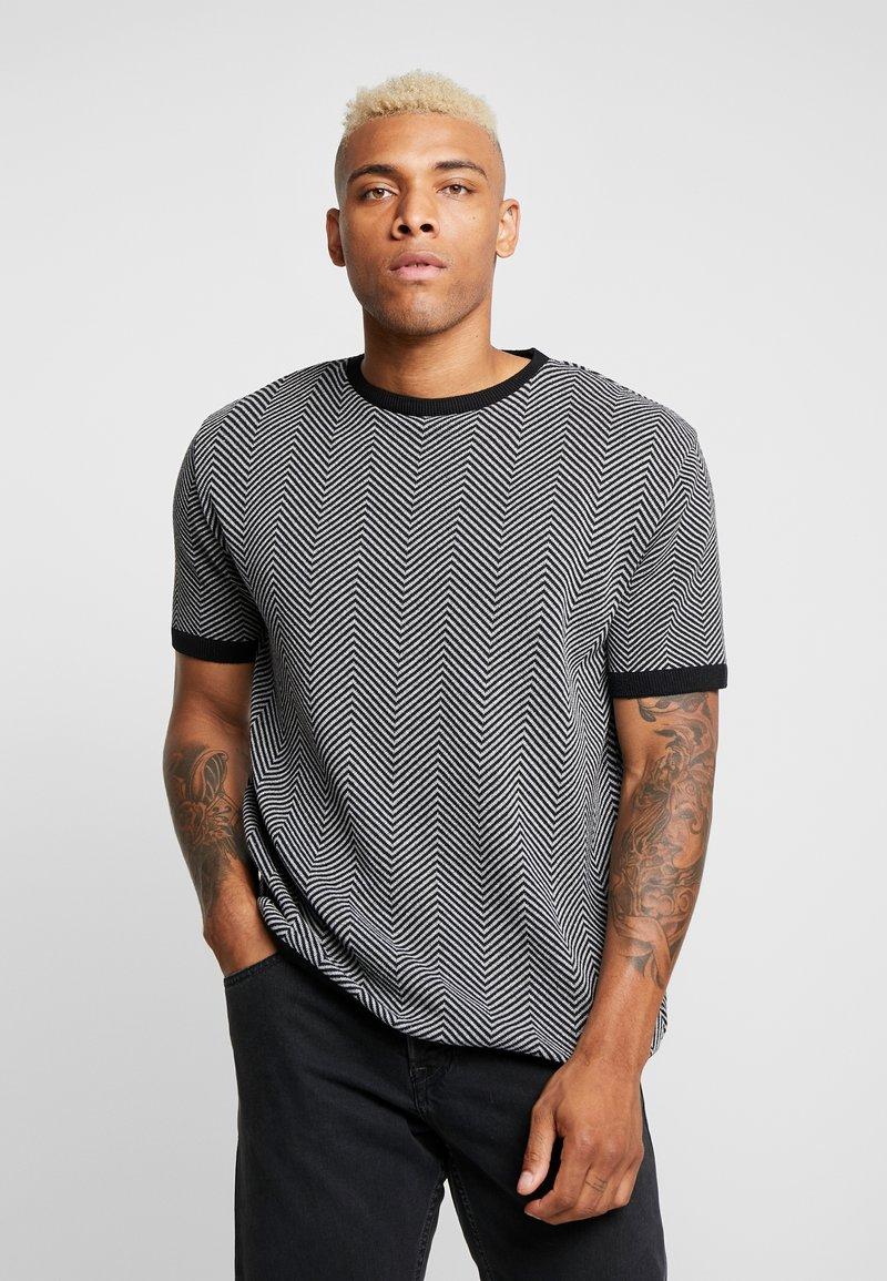 River Island - T-Shirt print - black