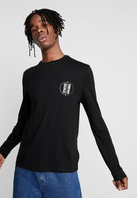 River Island - Long sleeved top - black - 0