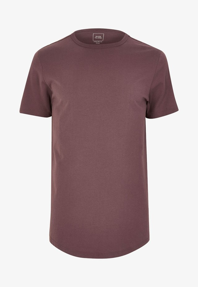 T-shirt - bas - purple