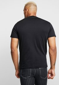 River Island - PINSTRIPE BASEBALL - T-shirt print - black - 2