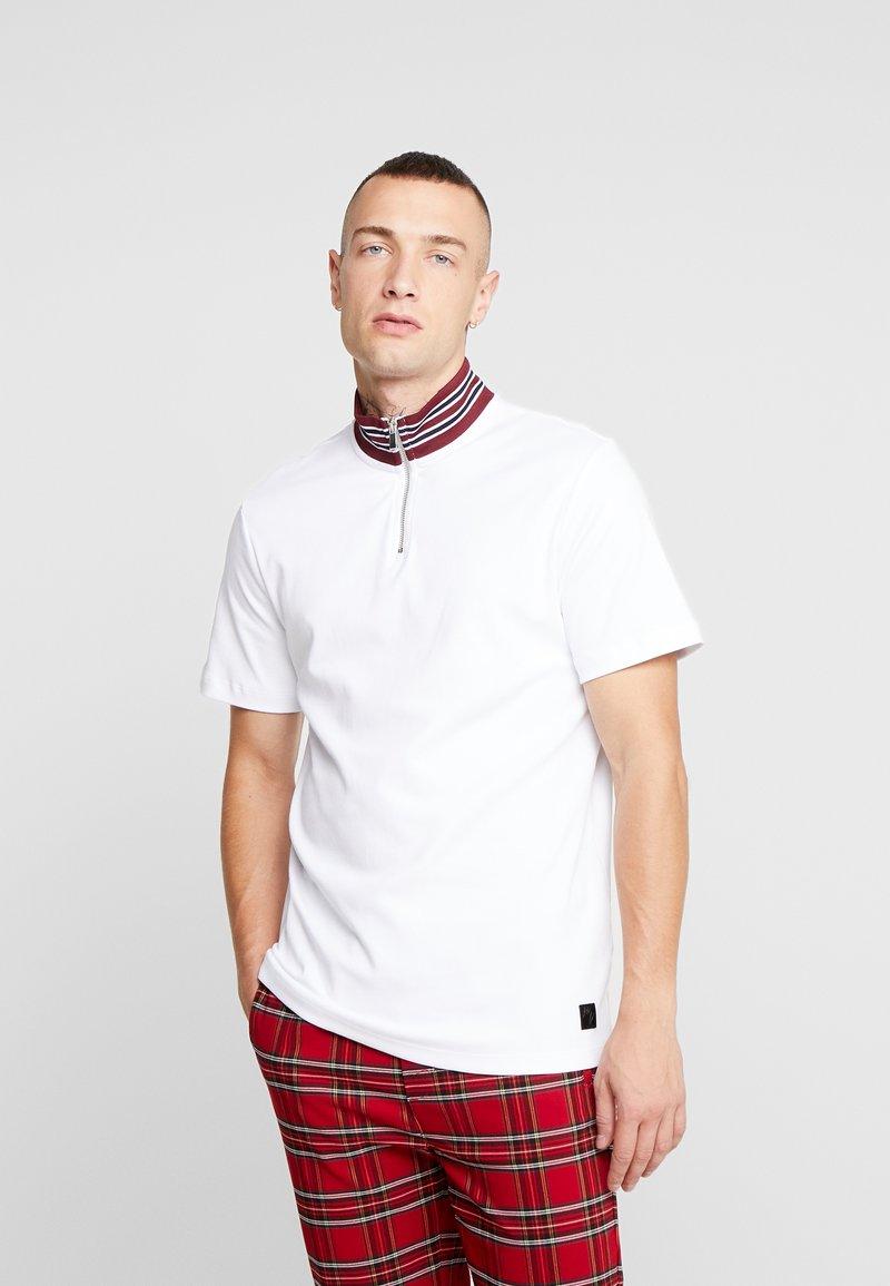 River Island - T-shirt z nadrukiem - white