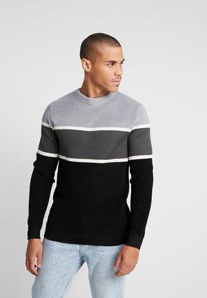 BLOCKED CREW - Sweter - grey