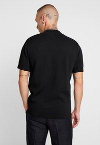 River Island - T-shirt z nadrukiem - black - 2