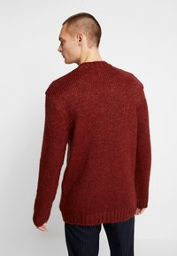 River Island - BOUCLE CREW - Jumper - rust - 2