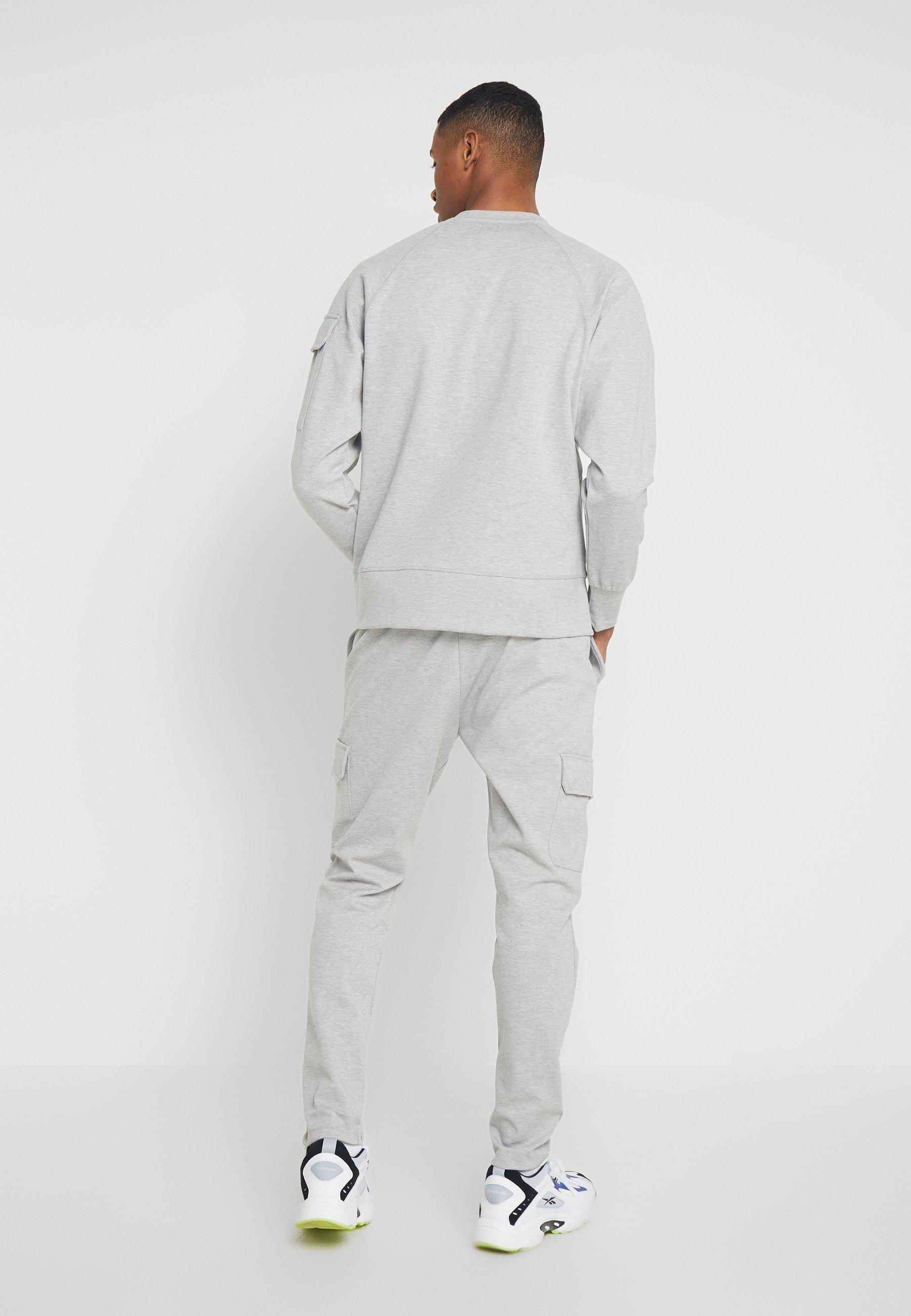 shirt LonguesGrey T River Island Manches À cj35ARqL4