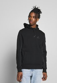 River Island - HOODED - Hættetrøjer - black - 0