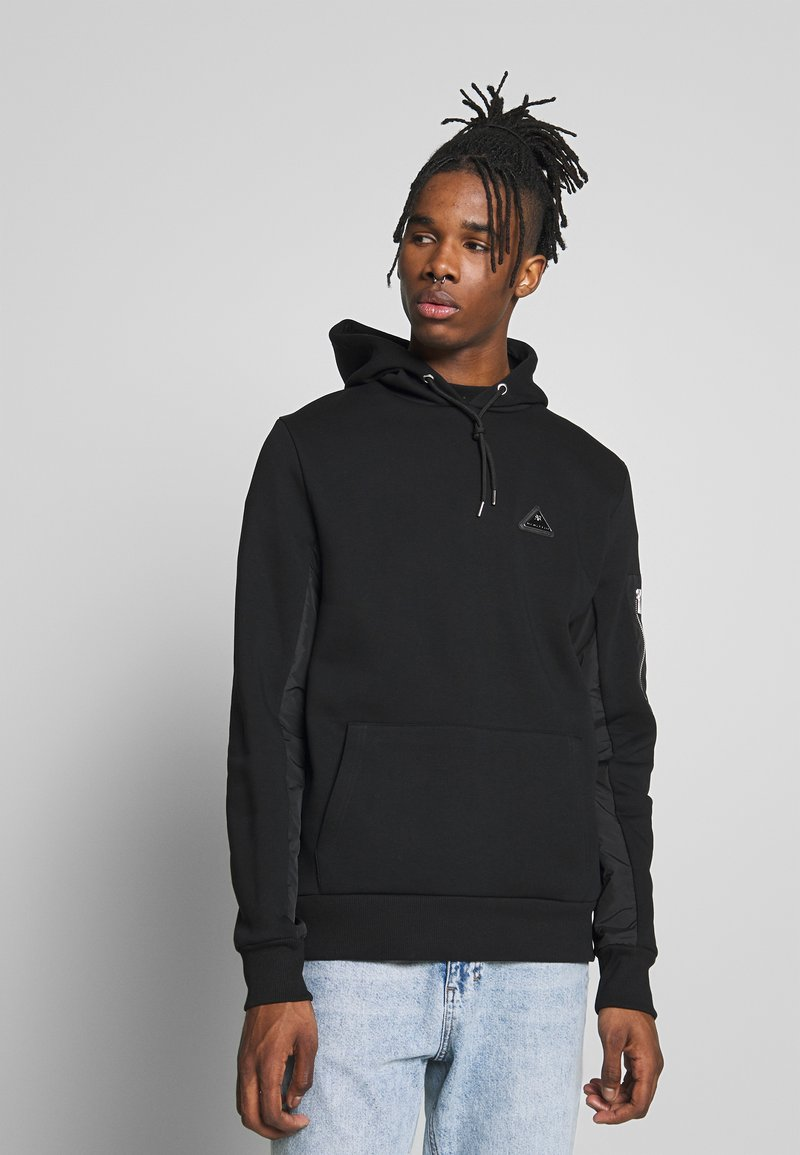River Island - HOODED - Hættetrøjer - black