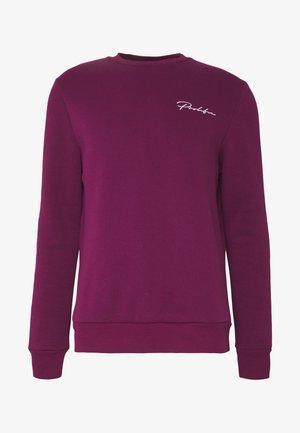 DARK SLIM PROLIFIC CREW - Sweatshirt - purple