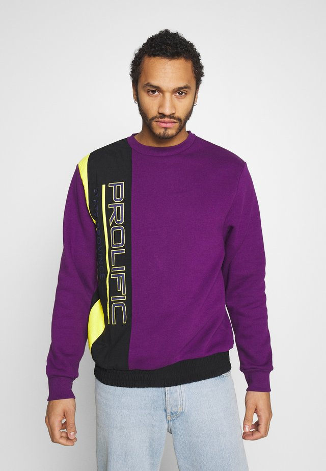 MAISON CREW - Sweatshirt - purple