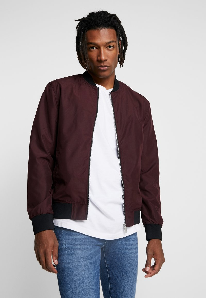 River Island - Bomber Jacket - berry