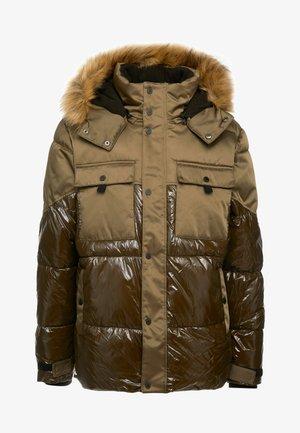 Krátký kabát - khaki