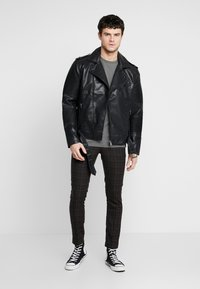 River Island - Faux leather jacket - black - 1