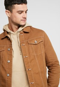 River Island - Spijkerjas - brown - 3