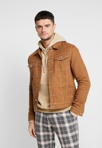 River Island - Spijkerjas - brown - 0