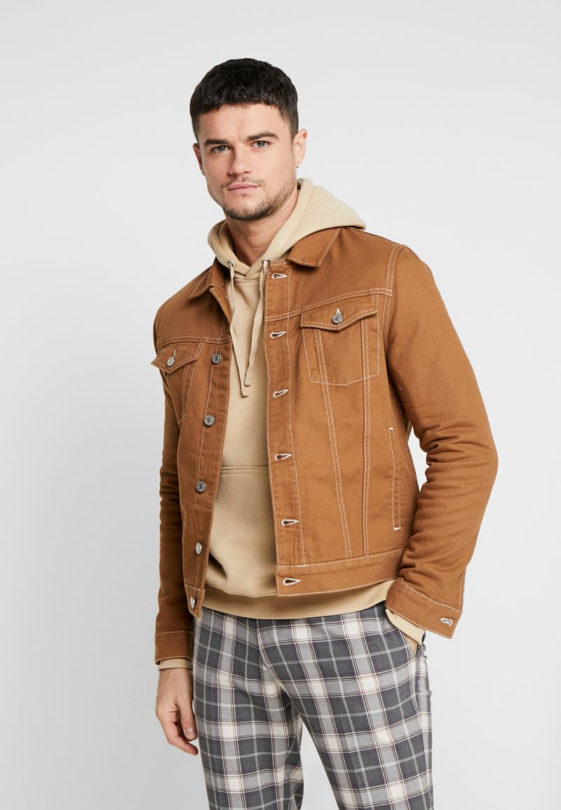 River Island - Denim jacket - brown
