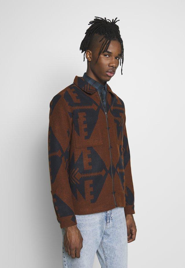 Summer jacket - choc