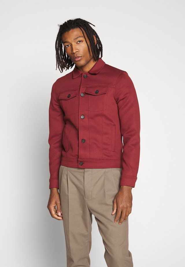 Chaqueta fina - dark red