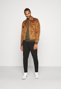 River Island - Faux leather jacket - tan - 1