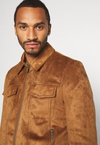 River Island - Faux leather jacket - tan - 3