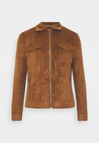 River Island - Faux leather jacket - tan - 4