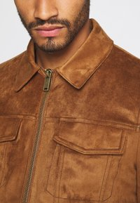 River Island - Faux leather jacket - tan - 5