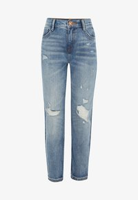 River Island - MOM  - Džíny Slim Fit - blue - 0