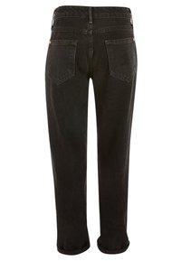 River Island - DIAMANTE - Jeans straight leg - black - 1