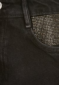 River Island - DIAMANTE - Jeans straight leg - black - 2