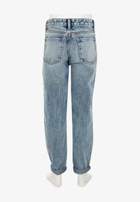 River Island - GIRLS BLUE RIPPED MOM HIGH RISE JEANS - Straight leg jeans - blue - 1