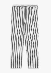 River Island - Spodnie materiałowe - white/black - 1