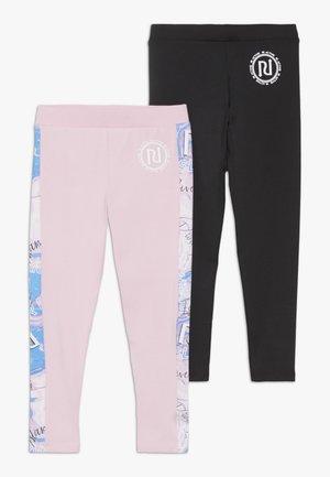 2 PACK - Legging - pink