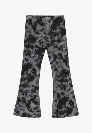 Trousers - black print