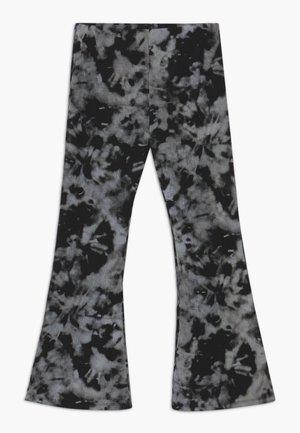 Kalhoty - black print