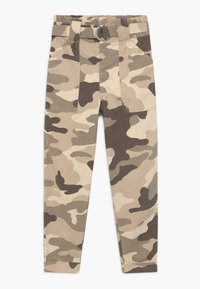 River Island - Jeans baggy - beige - 0