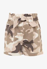 River Island - Denim shorts - khaki - 0