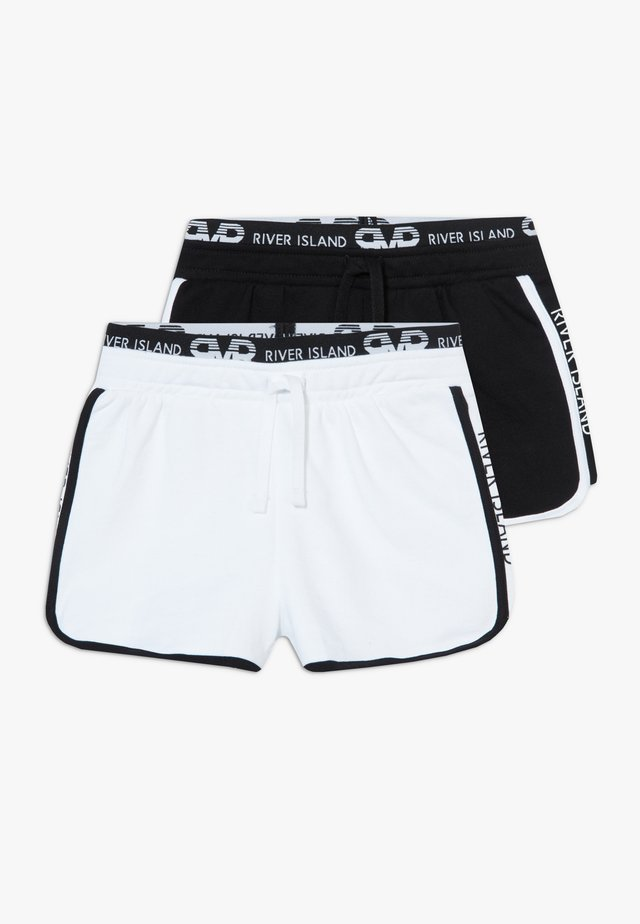 RUNNER 2 PACK  - Shorts - black/white