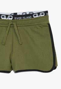 River Island - RUNNER 2 PACK  - Kraťasy - grey/khaki - 3