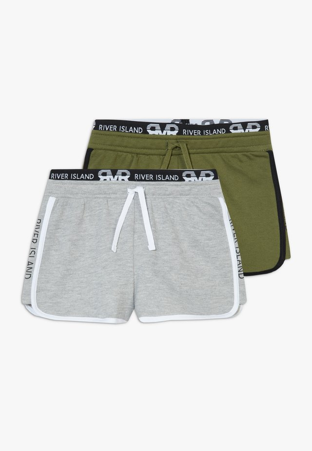RUNNER 2 PACK  - Shorts - grey/khaki