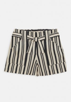 Shorts - beige/black