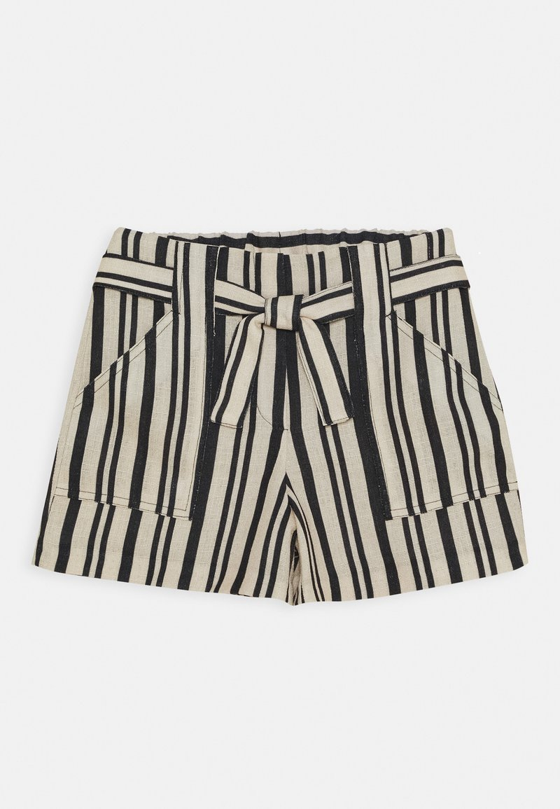 River Island - Shorts - beige/black